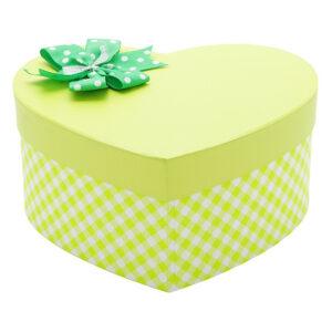 Hộp quà trái tim màu vàng