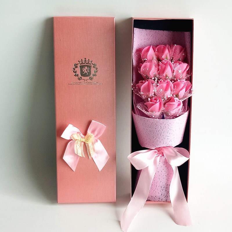 Hộp hoa hồng sáp 11 bông