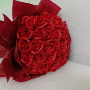 Hoa hồng sáp thơm 36 bông màu đỏ